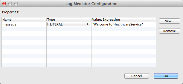 properties of the log mediator