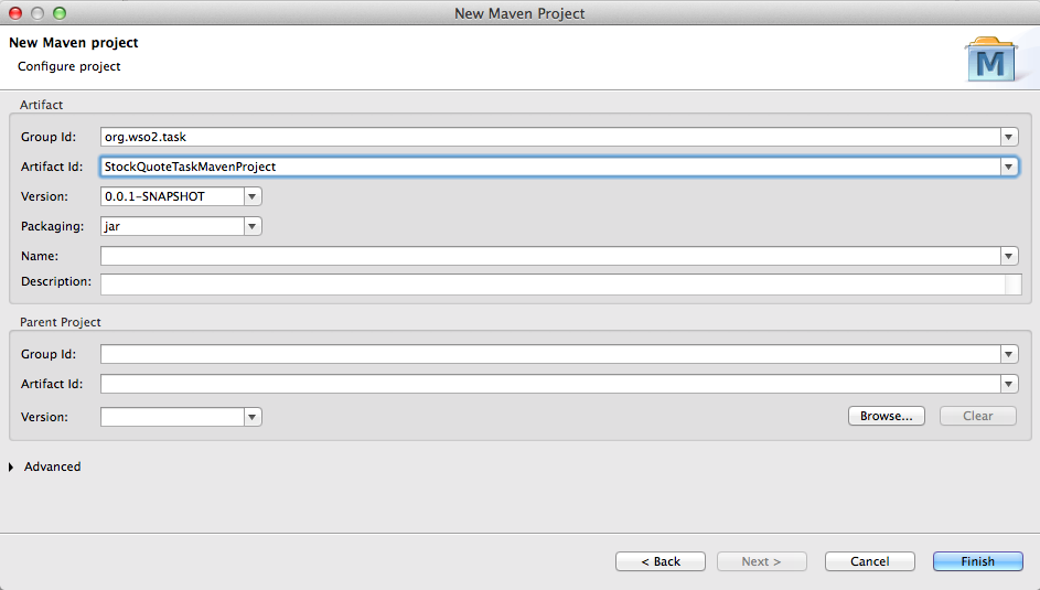 Scheduling a Task Using a Custom Implementation - WSO2