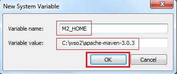 Installing Apache Maven on Windows - Identity Server 3 2 3 - WSO2