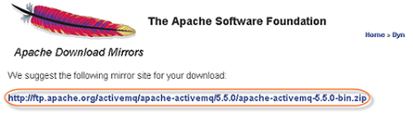 Installing Apache ActiveMQ on Windows - Business Activity Monitor
