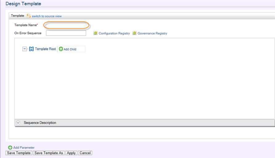 Adding A New Sequence Template Enterprise Service Bus 4 6 0 Wso2