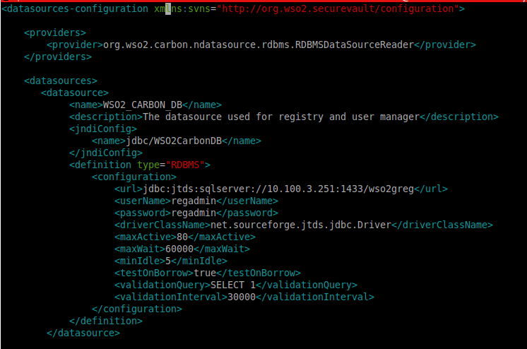 Setting up with MS SQL - Enterprise Service Bus 4 6 0 - WSO2