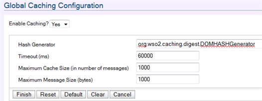 WSO2 Carbon global caching configuration