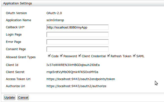 OAuth Bearer Token-based Authentication for SCIM Endpoints