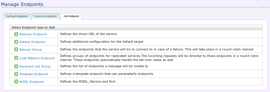 Manage Endpoints