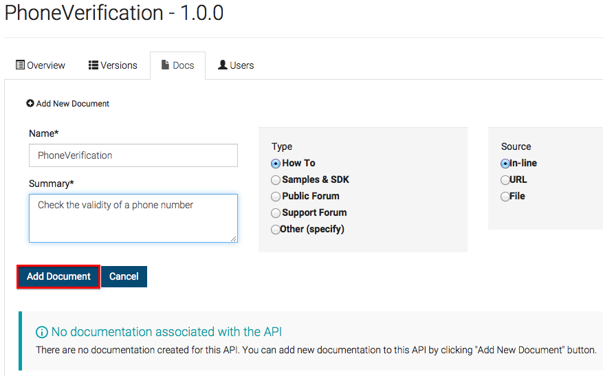 how to create api documentation
