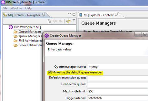 create query manager