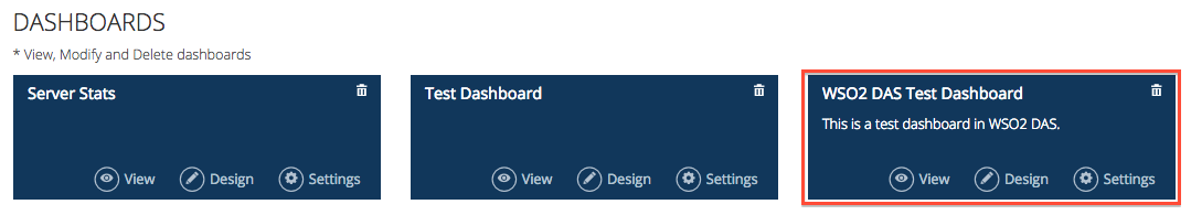new dashboard added to the list