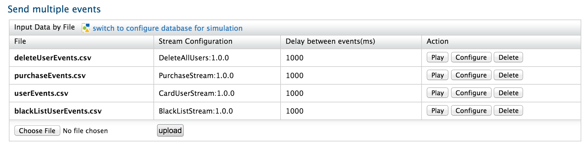 Sample 0107 - Using RDBMS event tables - Complex Event Processor ...