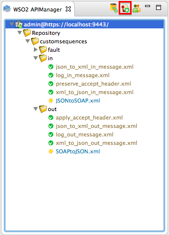 Convert a JSON Message to SOAP and SOAP to JSON - API Cloud - WSO2