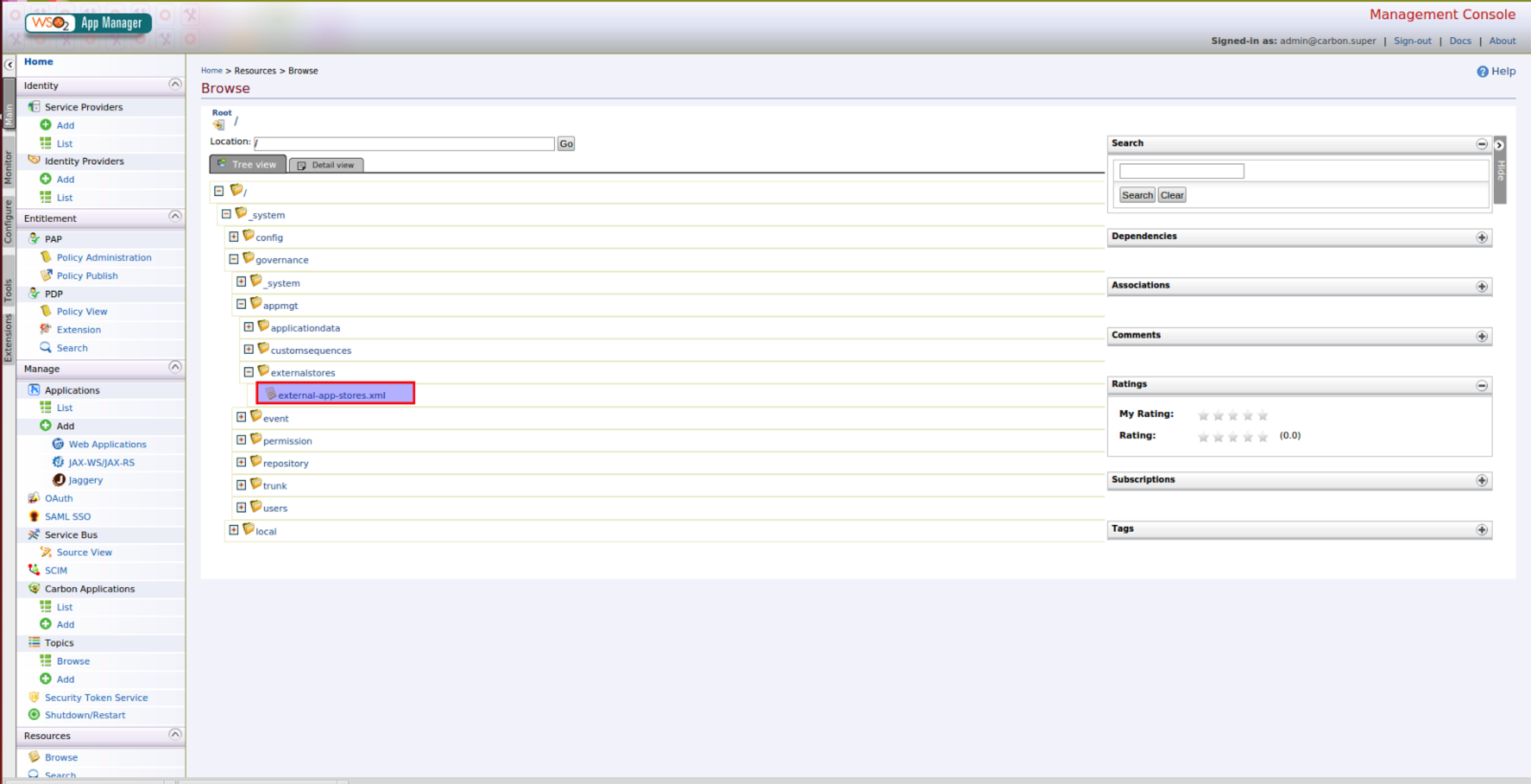 Publishing Web Apps to Multiple Tenant Stores - App Manager
