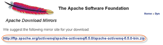 Installing Apache ActiveMQ for ESB on Windows - Enterprise Service