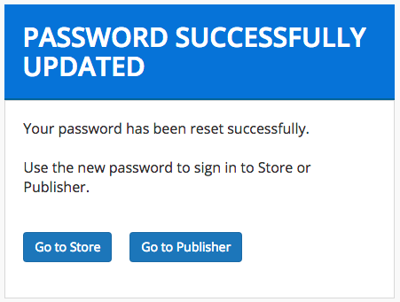 Resetting Your Password - Enterprise Store 2 1 0 - WSO2