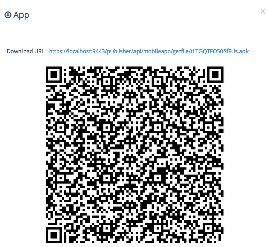 download URL of the mobile app