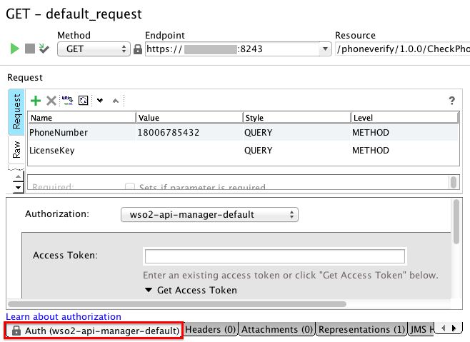 Test an API using a Testing Tool - API Manager 2 0 0 - WSO2