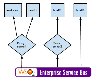 Working with Proxy Servers - Enterprise Service Bus 5 0 0