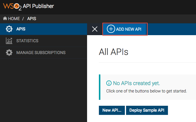 Create and Publish an API from Swagger definition - API Manager 2 1