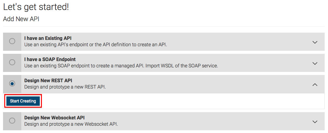 Create a Prototyped API with an Inline Script - API Manager 2 1 0