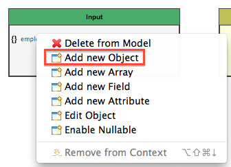 add an object as a child element