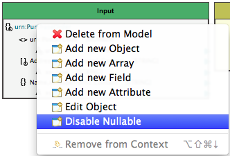 disable the element being nullable
