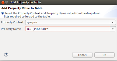 add a new property to the properties table.
