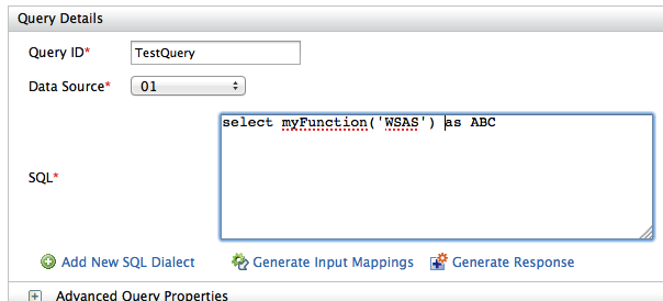 Calling MySQL or Oracle Functions in a Query - Enterprise Integrator