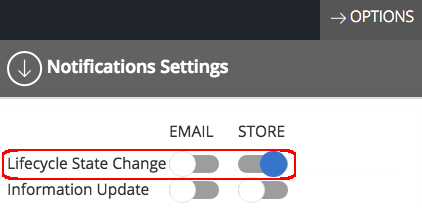 lifecycle state change notifications