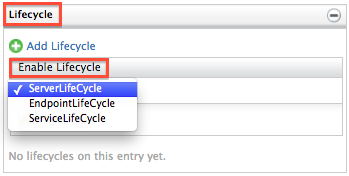 select lifecycle