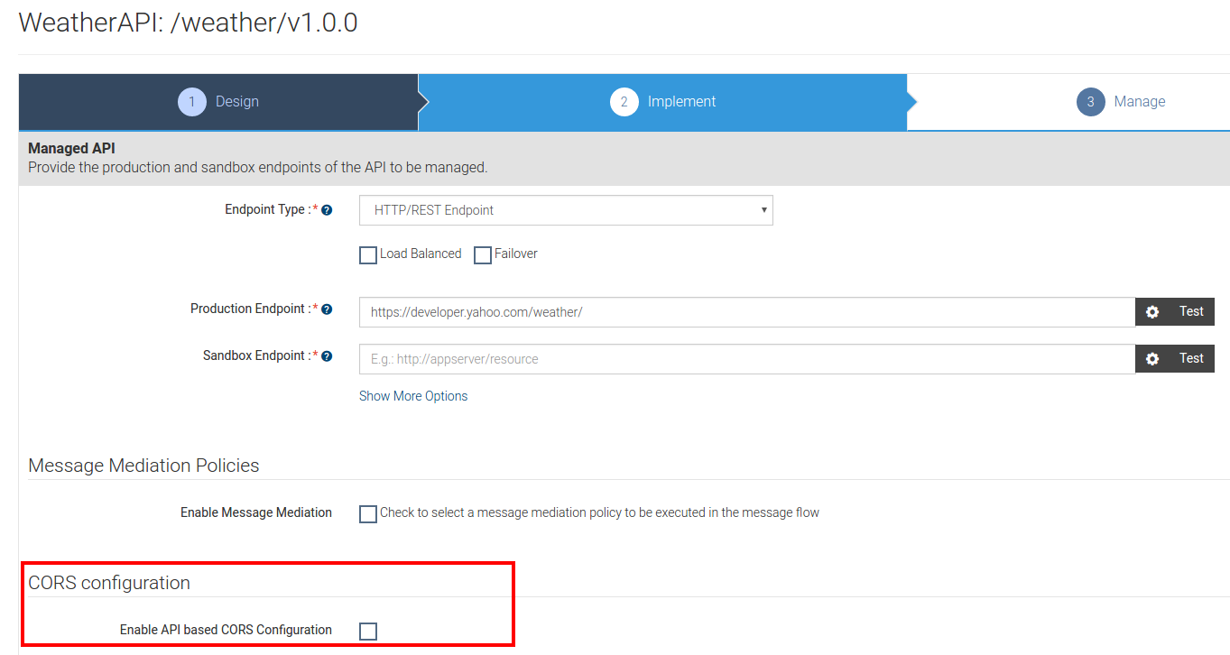 Enabling CORS for APIs - API Manager 2 1 0 - WSO2 Documentation