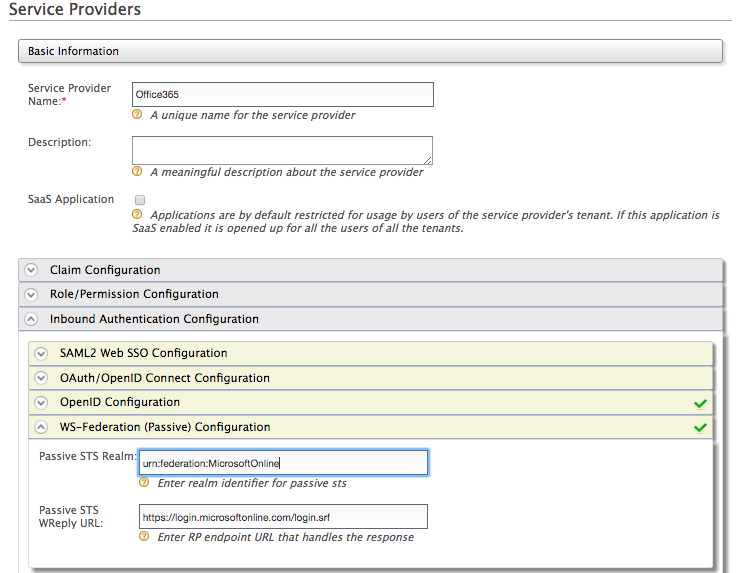 Configuring Office 365 WS-Federation with Identity Server - Identity