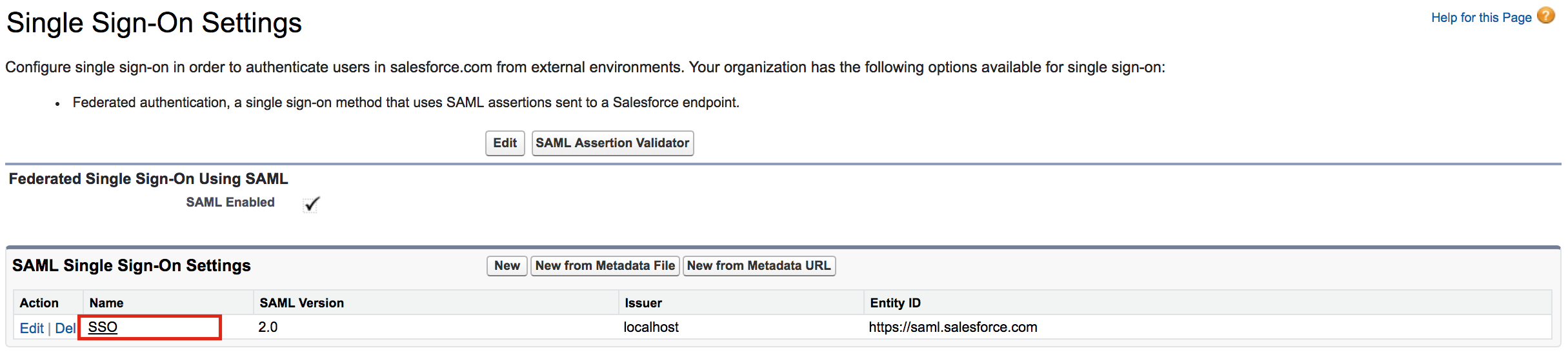 Sso Quote Logging In To Salesforce Using The Identity Server  Identity