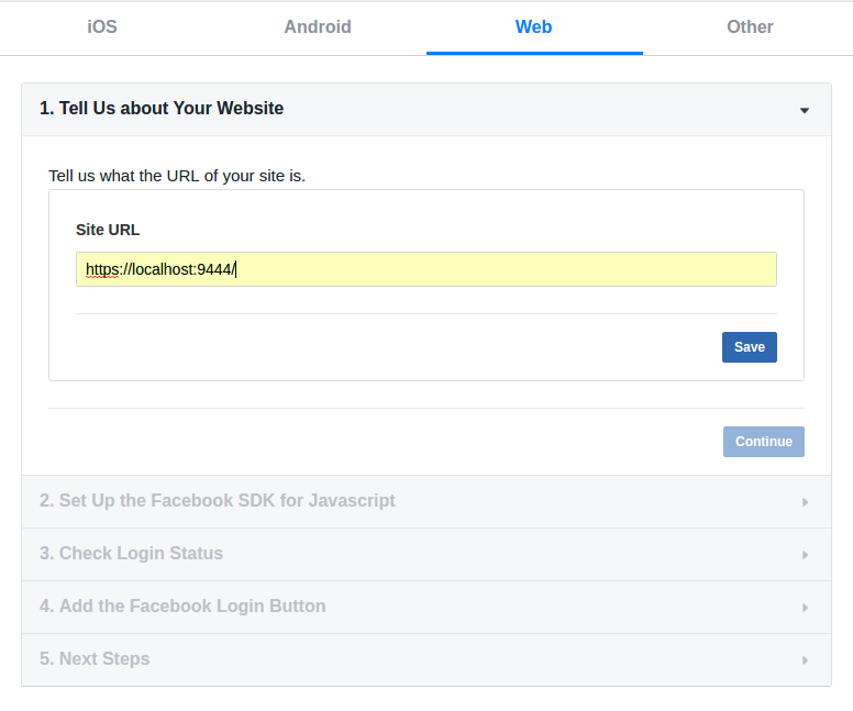 Log in to the API Store using Social Media - API Manager 2 1