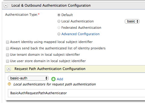 Basic Auth Request Path Authentication - Identity Server 5 3 0