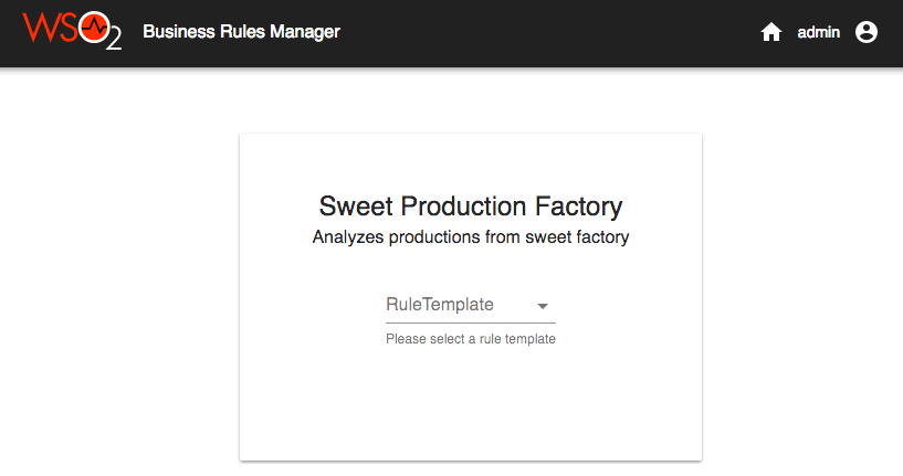 Managing business rules via templates stream processor 400 to create a rule from this template lets click on this template it opens as follows accmission Images