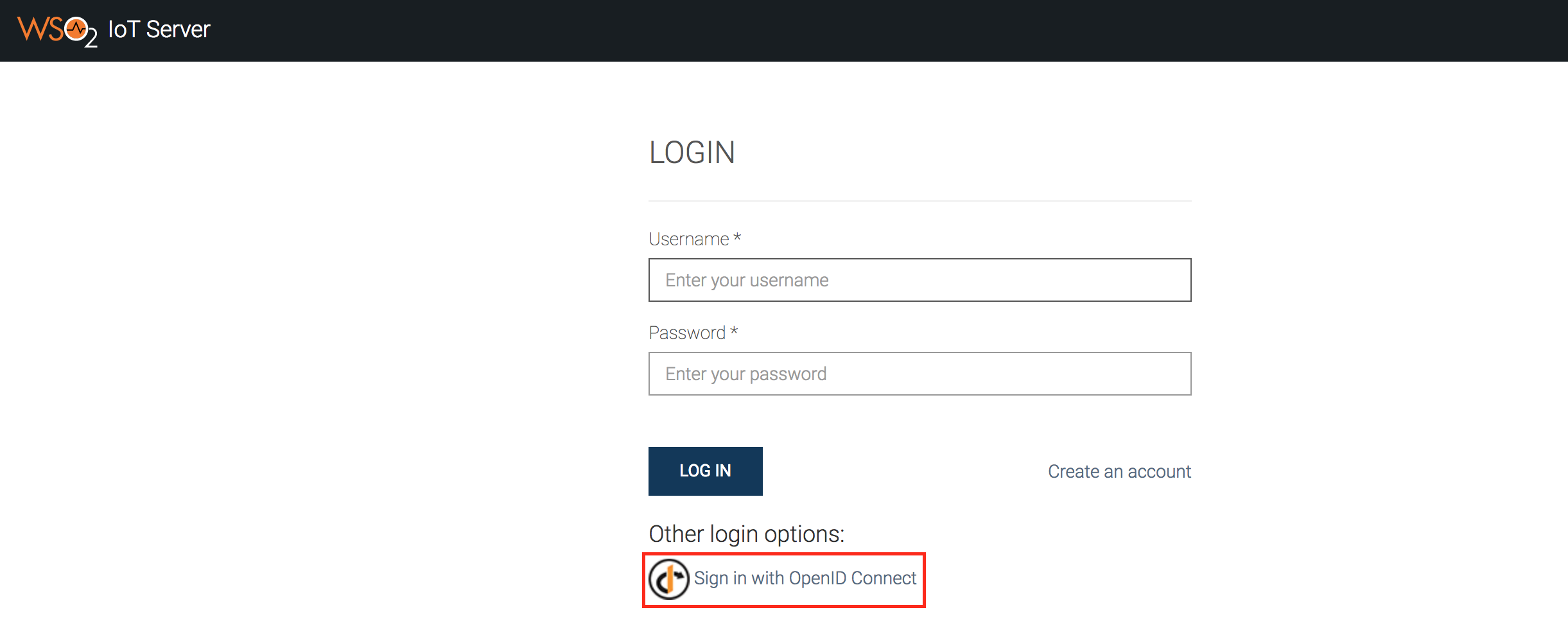 Setting Up A Federated IdP with OpenID Connect - IoT Server 3.2.0 ...