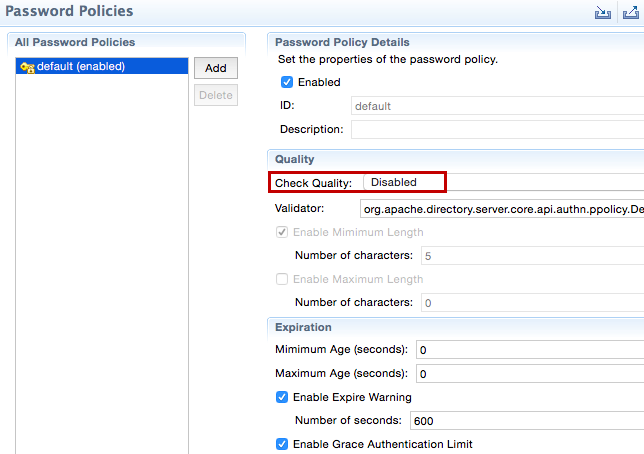 Setting Up An LDAP User Store - Identity Server 5 7 0 - WSO2