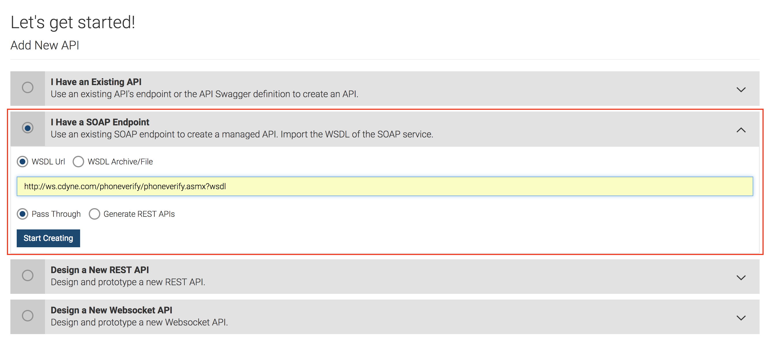 Create and Publish a SOAP API - API Manager 2 6 0 - WSO2 Documentation