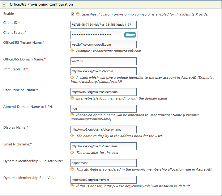 Configuring Microsoft Azure AD Outbound Provisioning